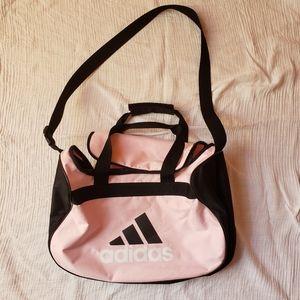 Adidas sports Duffle Bag Medium size light pink